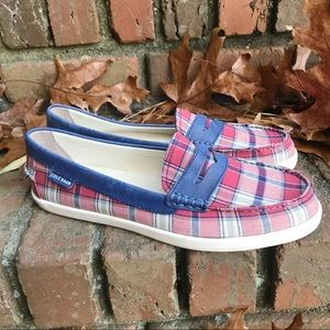 [Cole Haan] Plaid Pinch Weekender Penny Loafers